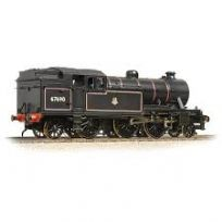 Bachmann 31-613 Class V3 2-6-2T 67628 BR lined Black Late crest